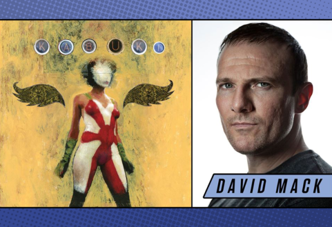 David Mack signing at Things From Another World
