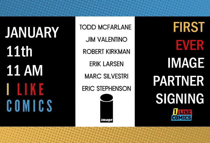 Image Comics Signing at I Like Comics