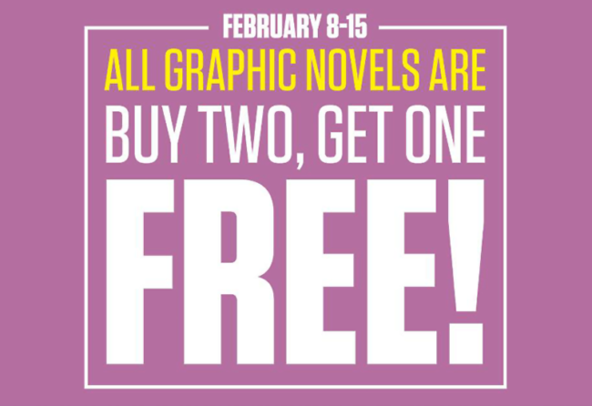 Buy Two, Get One Free Graphic Novel Sale at Things from Another World