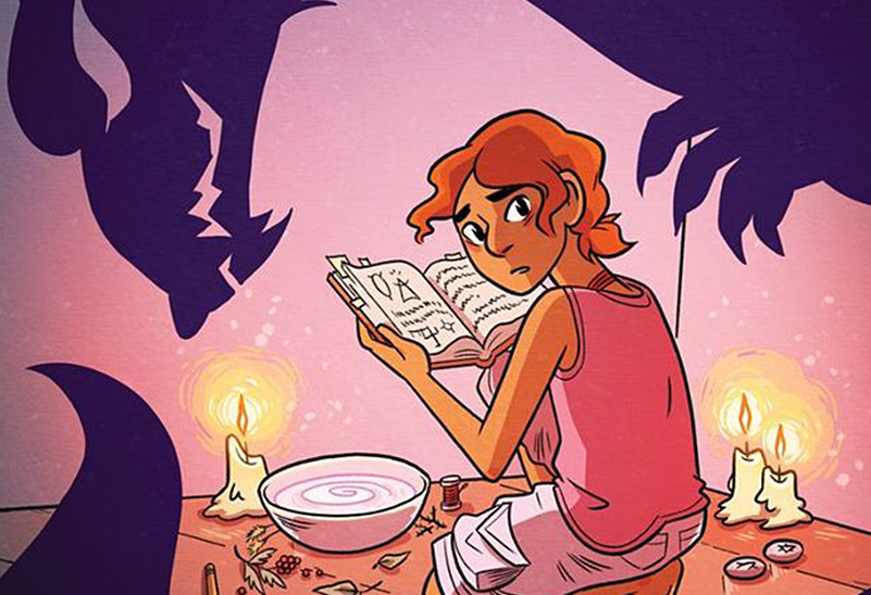 Book Club: The Witch Boy by Molly Ostertag