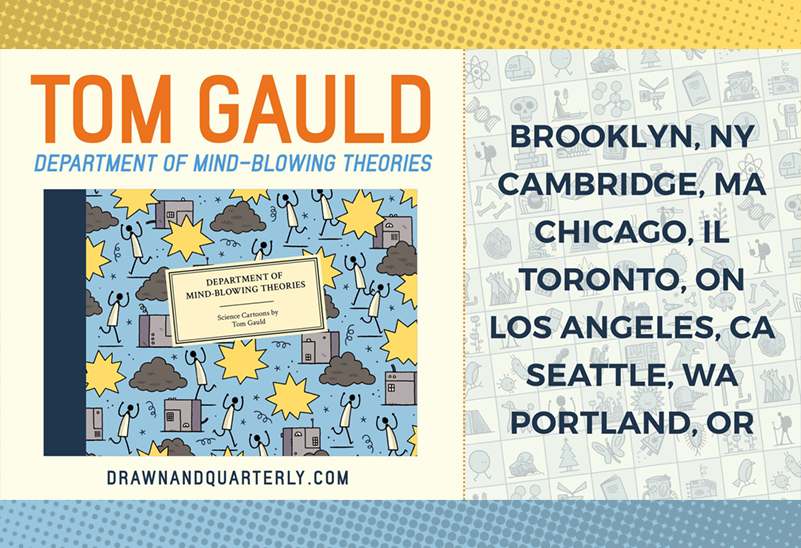 Tom Gauld on Tour at Powell's City of Books