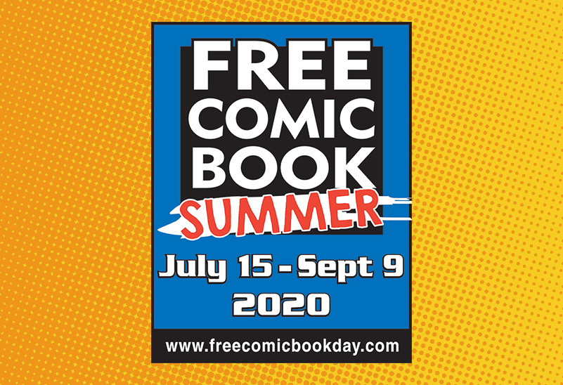 Free Comic Book Summer - July 15 to September 9