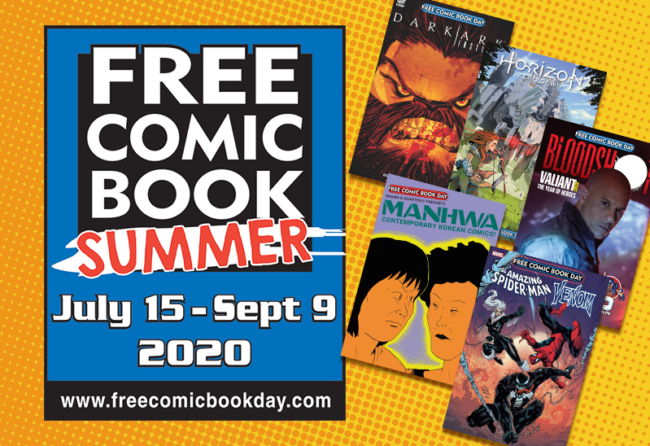 Free Comic Book Summer - July 22 Releases