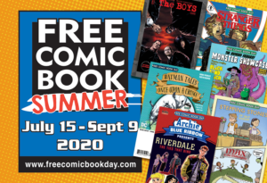 Free Comic Book Summer July 29