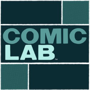 Comic Lab Podcast Logo