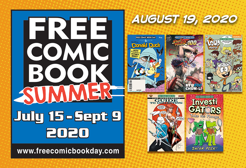 Free Comic Book Summer: August 19