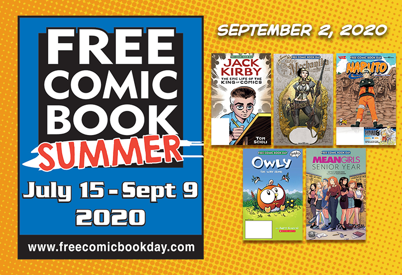 Free Comic Book Summer - September 2, 2020