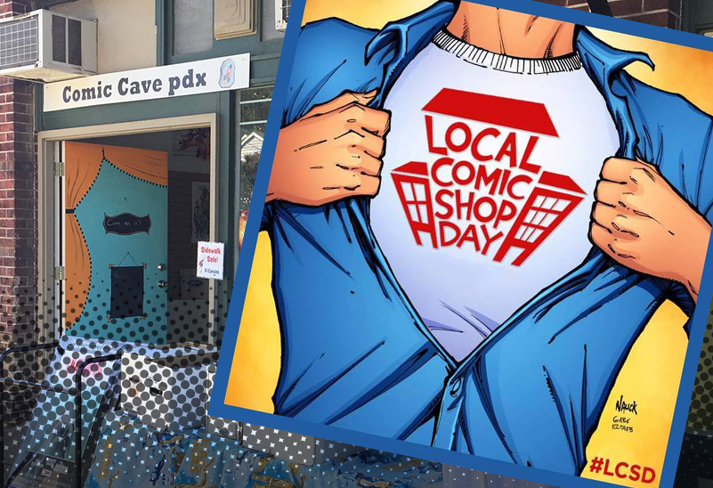 Local Comic Shop Day - Comic Cave