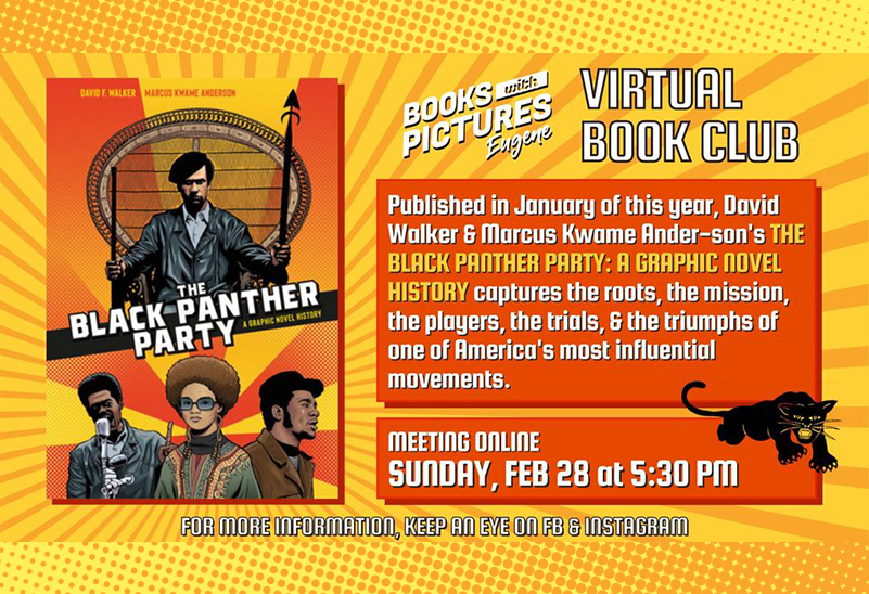 Virtual Book Club: The Black Panther Party, Feb. 28, 2021