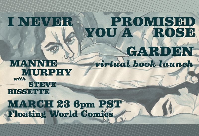 Mannie Murphy and Stephen R. Bissette: I Never Promised You A Rose Garden Virtual Book Launch