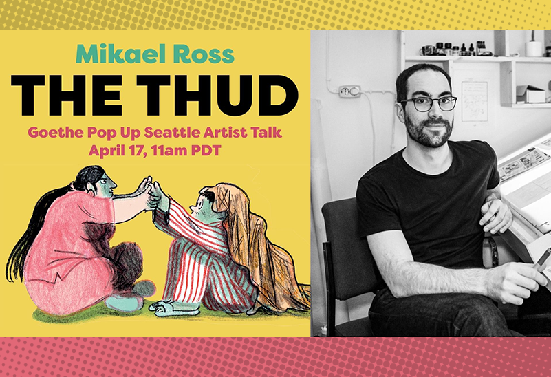 """The Thud"": Artist Talk with Mikael Ross"