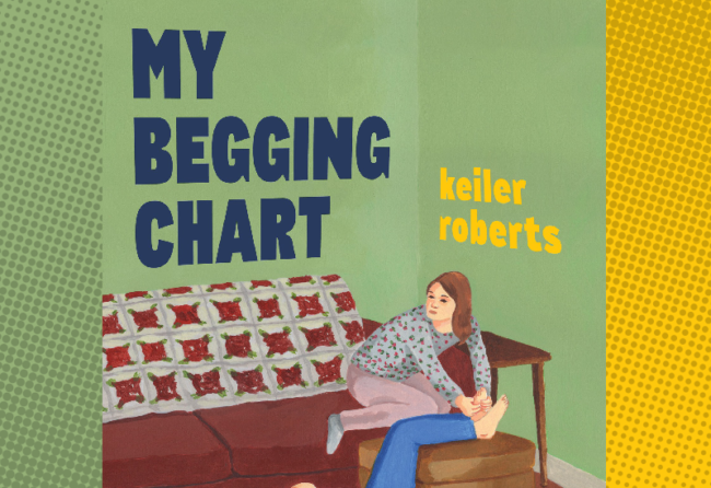 My Begging Chart, May 26 2021 with author Keiler Roberts