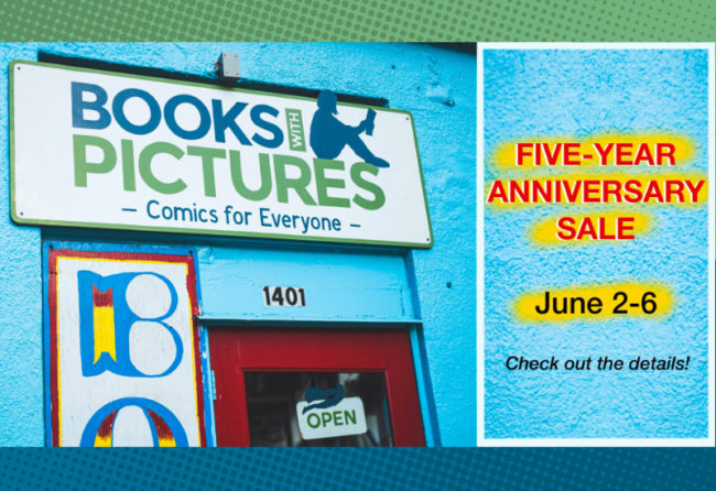 June 2-6 - Books With Pictures Five-Year Anniversary Sale