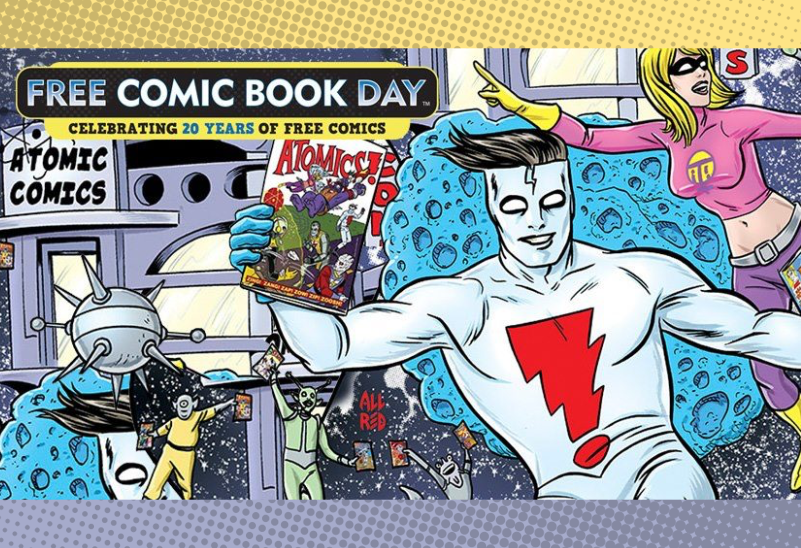August 14 - Free Comic Book Day at Books With Pictures Eugene